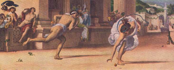 Atalanta, la leyenda de la invencible cazadora griega.