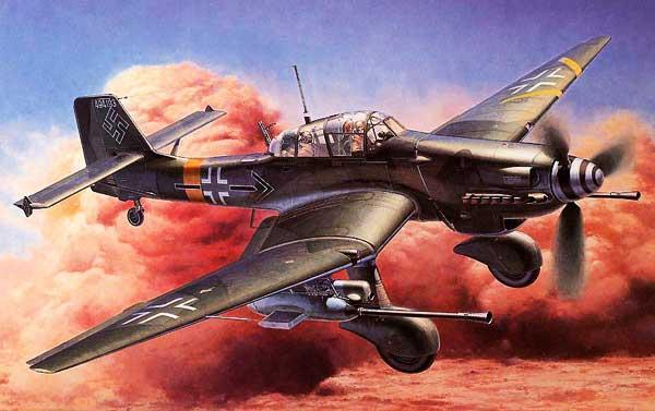 Junkers 87 Stuka: Bombardeo en Picado