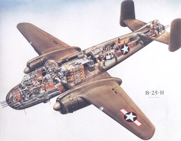 El B-25 modificado de Doolittle