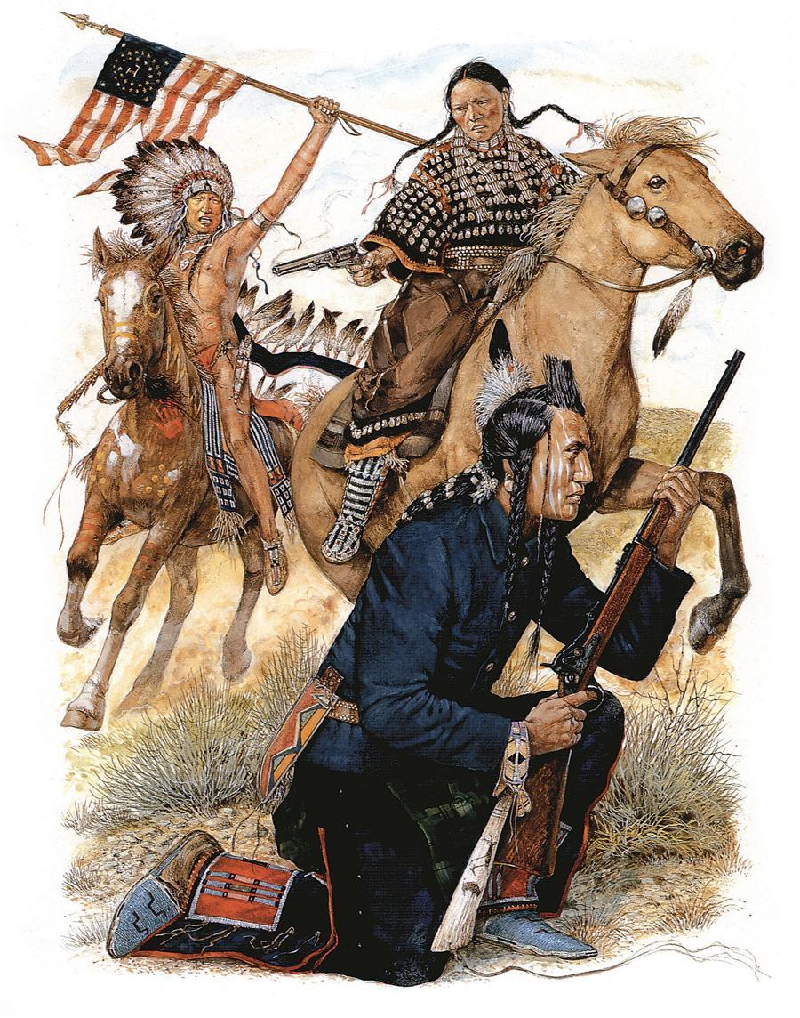 ¿Que les pasa a estos indios americanos?