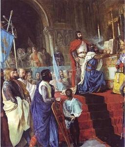 El Cid Campeador, La Jura de Santa Gadea