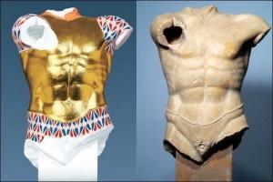Los colores originales de las estatuas griegas y romanas