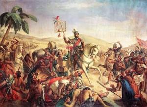 Cortés en Otumba