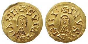 Tremis de oro acuñado en los tiempos de Suintila