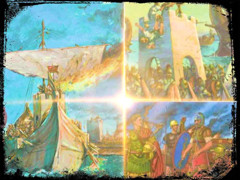 La batalla de Actium: una victoria de marketing mas que militarmente decisiva