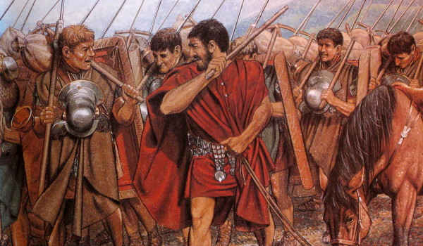 Decimatio: un castigo romano ejemplar