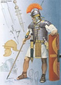 Equipo de un legionario romano