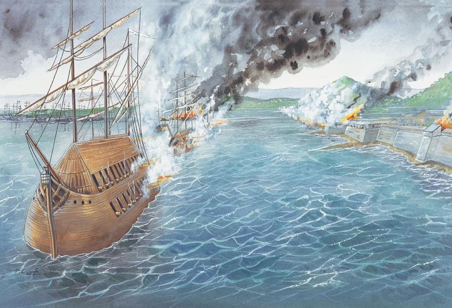¿Qué atacan, de que nacionalidad y por qué son tan peculiares estos barcos?