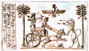 Pintura del Imperio Persa