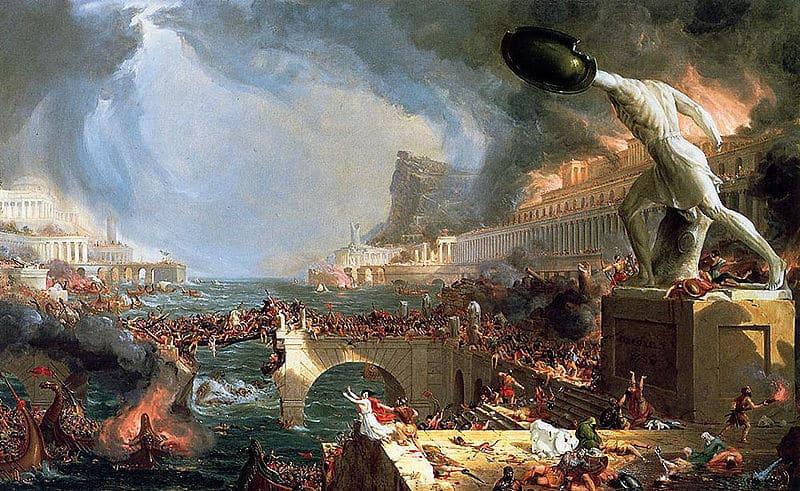 La caída de los Imperios de la Edad Antigua