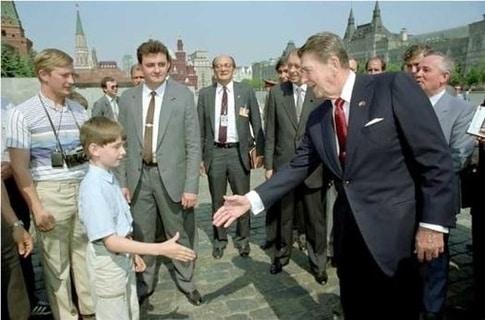 ¿Qué tres presidentes salen en esta foto?