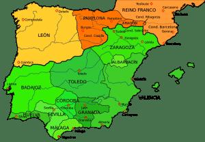 El Cid Campeador, Reinos de Taifas