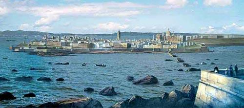 ¿Qué ciudad portuaria es esta?