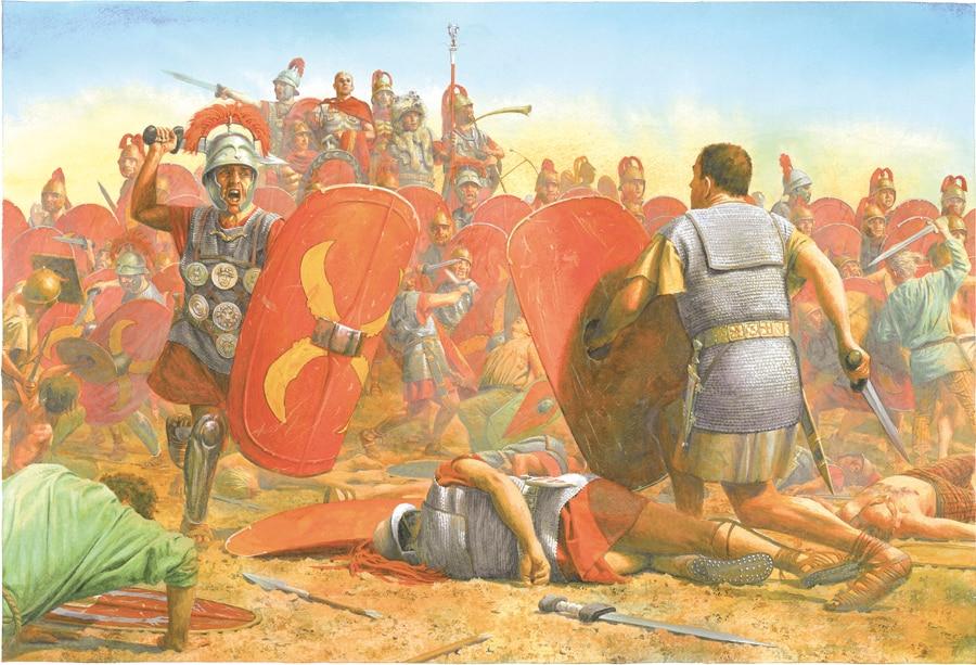 La rebelión de Espartaco