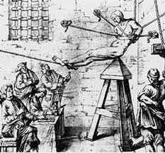 Torturas Medievales: Cuna de Judas