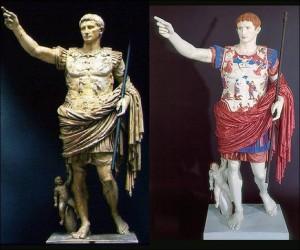 Los colores de las estatuas griegas y romanas