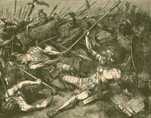 La muerte de espartaco