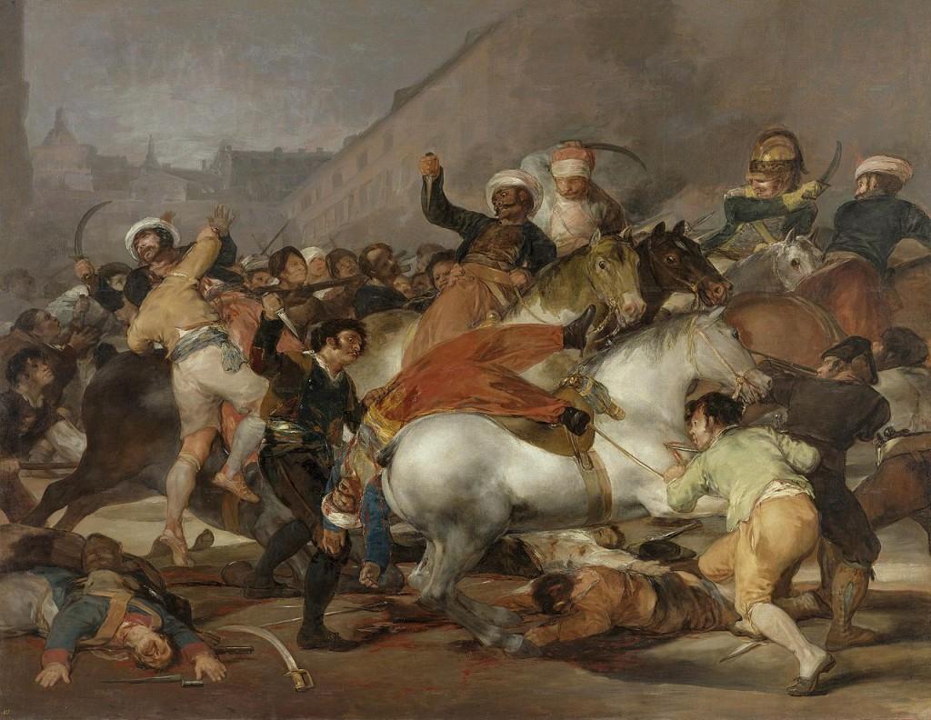 2 de mayo: La Carga de los Mamelucos
