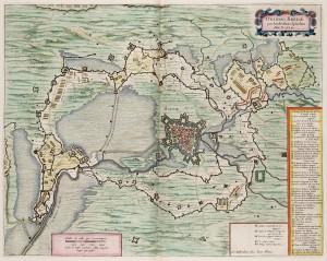El Sitio de Breda: Mapa