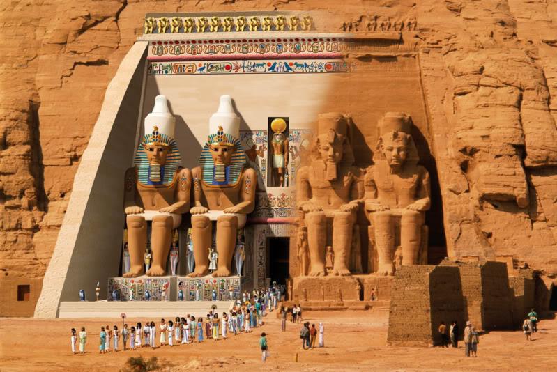 Abu Simbel, un complejo para la eternidad