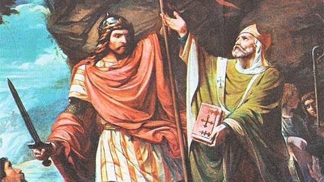 Don Pelayo y la batalla de Covadonga