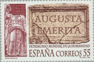Augusta Emerita, sello conmemorativo