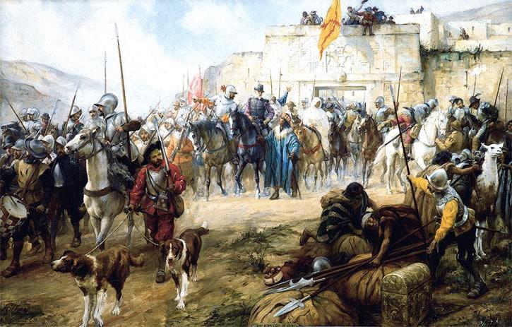 La leyenda del Rey Blanco y la codicia de los conquistadores españoles