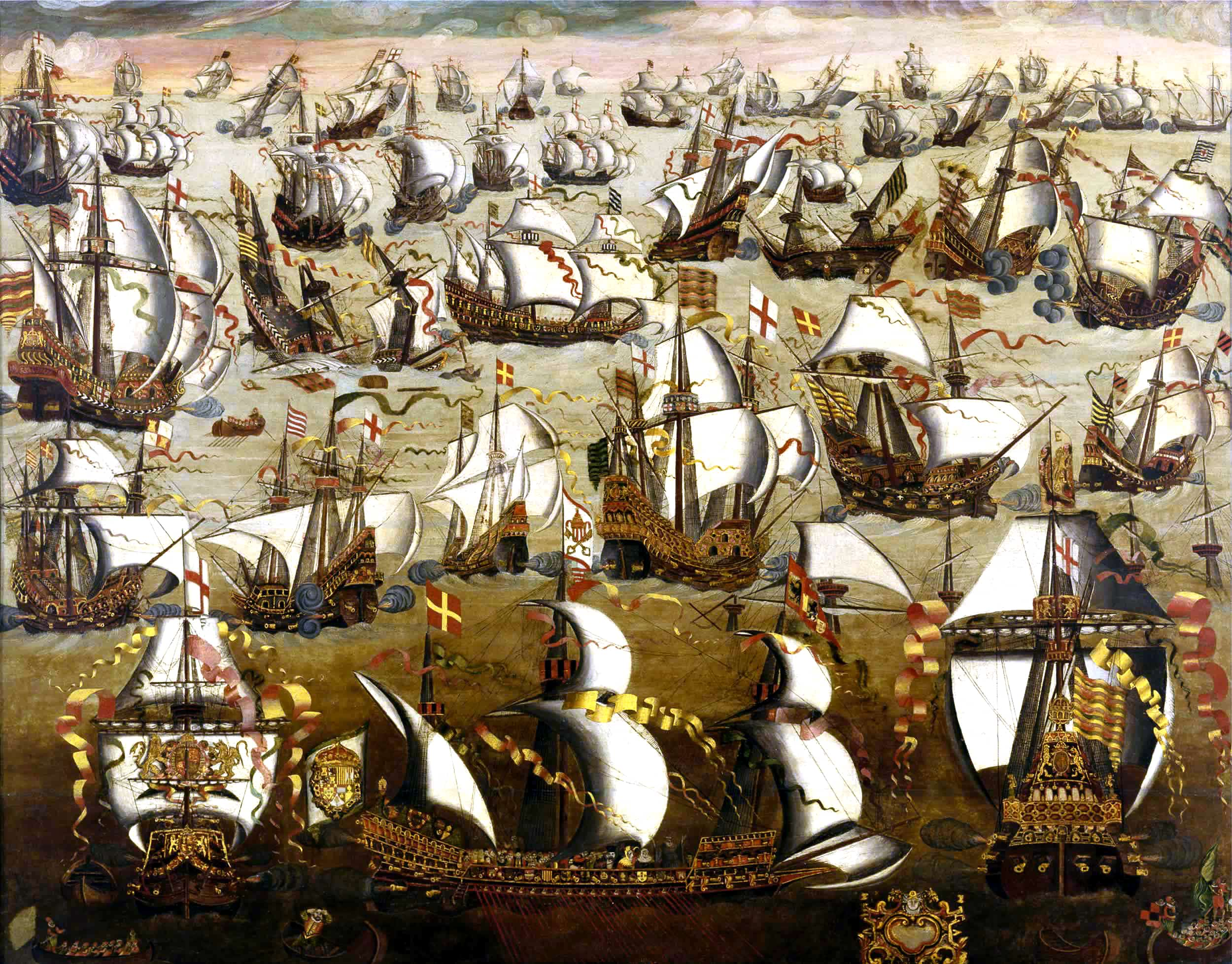 El saqueo español de las costas inglesas 1595