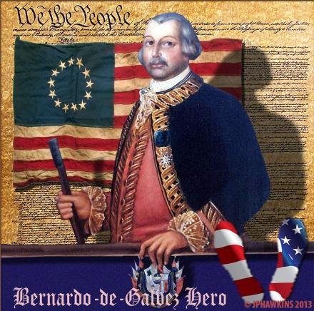 Bernardo de Gálvez, el español que desfiló a la derecha de George Washington el 4 de julio