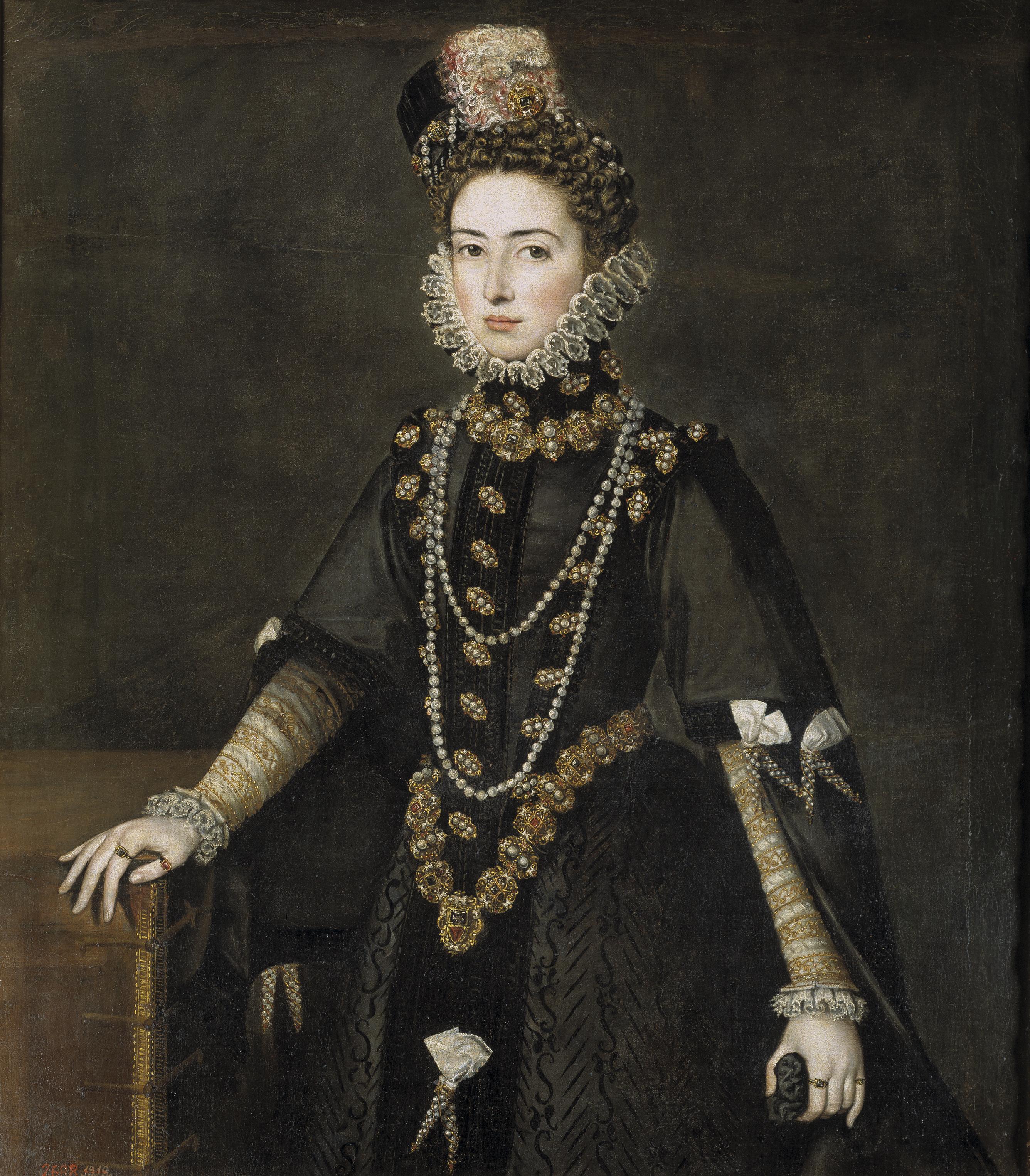 El vestido femenino en el reinado de Felipe II