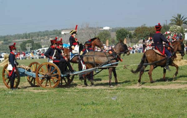 Batalla de Bailén: las heroicas mujeres de Bailén, artillería de la época