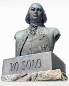 Bernardo de Gálvez, Yo Solo