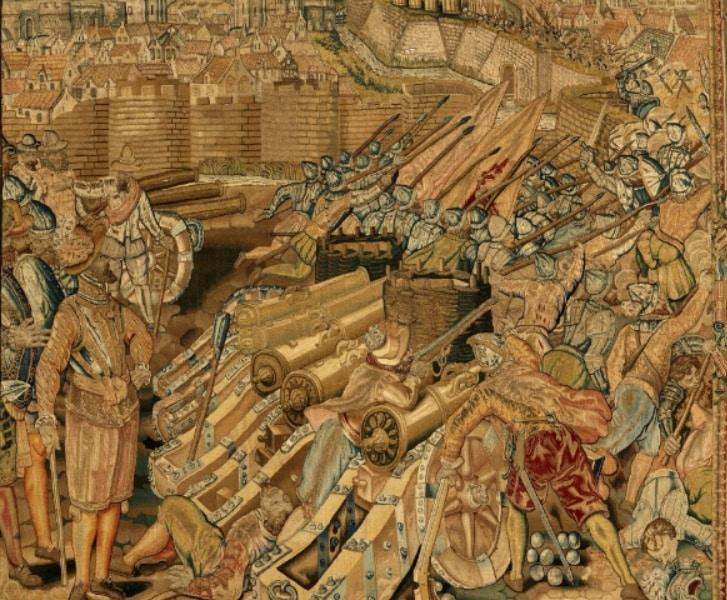La toma de Calais por España en 1596