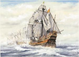 Blas de Lezo sirvió en la Armada Española