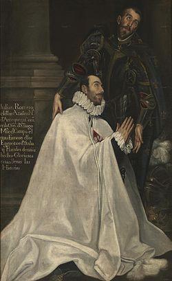 Tácticas y Técnicas de los Tercios Españoles (Parte II), Maestre de Campo Julián Romero y su Santo Patrono