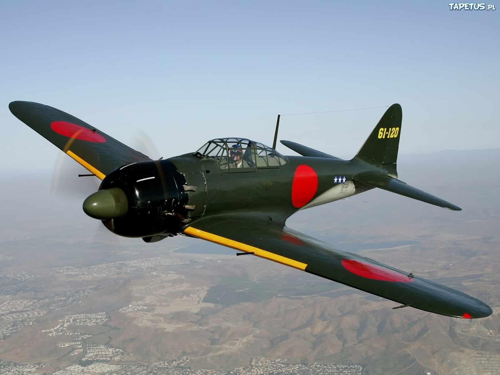 """Mitsubishi A6M """"Zero"""", el depredador aéreo nipón"""