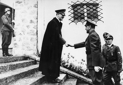 Los Ustasha, Adolf Hitler con Ante Pavelić, 1941
