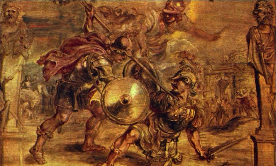 Aquiles de Rubens