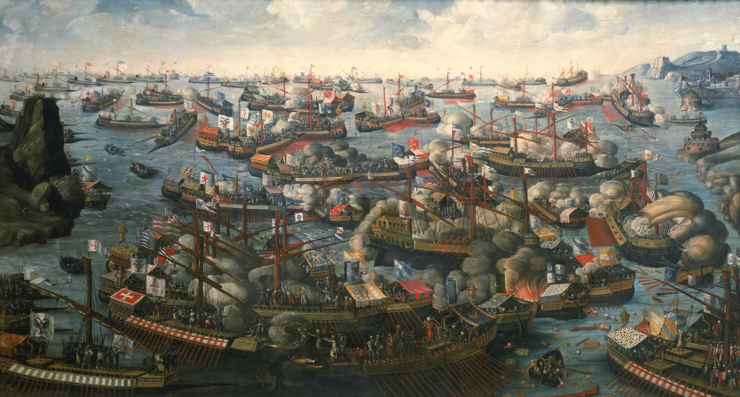 Lepanto, la batalla donde Cervantes…no quedó manco