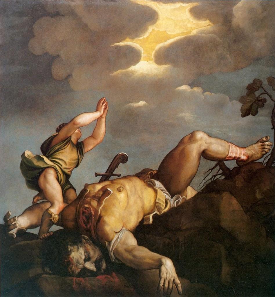 David durante su Yihad contra Goliath según el Coran