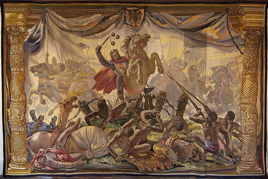 Vicente Pascual. Tapiz Navas batalla de las Navas de Tolosa