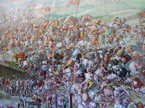 Tácticas y Técnicas de los Tercios Españoles (Parte II), Batalla de San Quintín