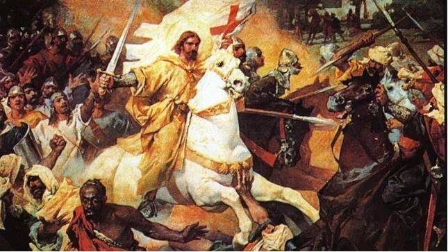 La Batalla de Clavijo y las cien doncellas