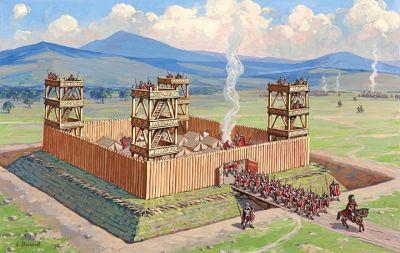 Los Castrum, campamentos fortificados Romanos