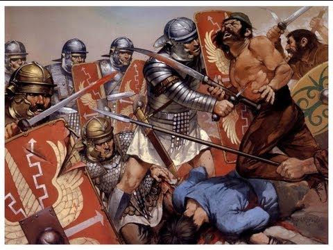 El combate cuerpo a cuerpo en las Legiones Romanasila