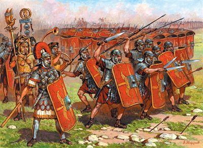 El combate cuerpo a cuerpo en las Legiones Romanas