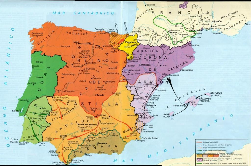 La Península después de las Navas de Tolosa, La Reconquista en el siglo XIII