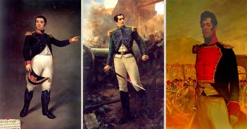 Daoíz y Velarde, Los capitanes Luis Daoiz y Pedro Velarde y el teniente Jacinto Ruiz