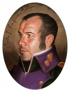 Daoíz y Velarde, Pedro Velarde