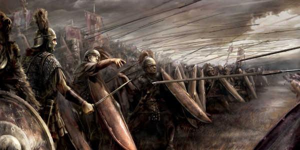 Armamento de las Legiones Romanas, Pilum